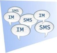SMS vs. IM