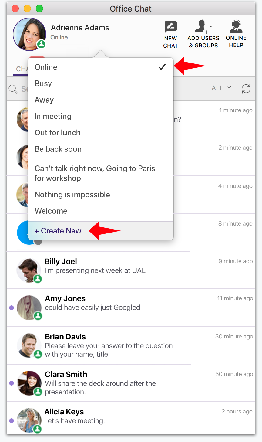 office chat v2 10 release office chat