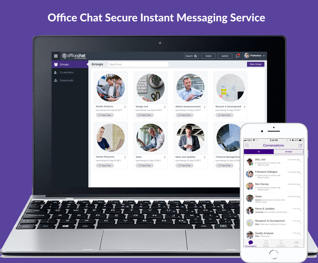 Office Chat, a HipChat and Stride Alternatives