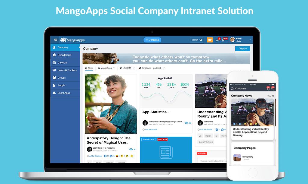 MangoApps Social Intranet