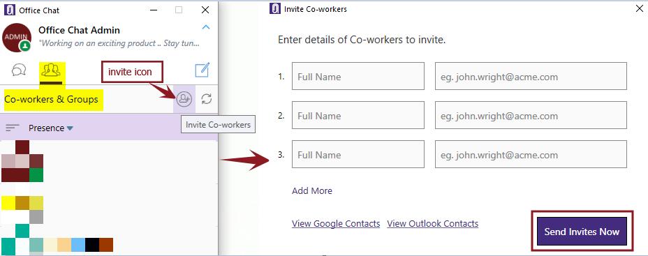 Invite Windows Main