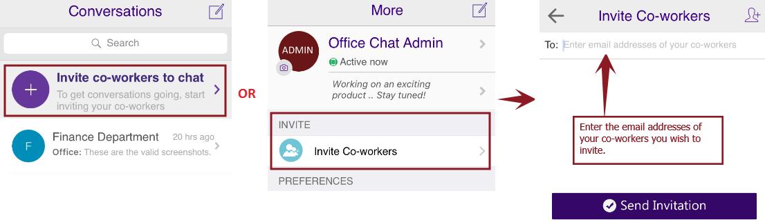 Invite iOS Main