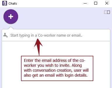 New conv invite - Windows