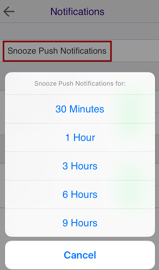 iOS Notifications 2