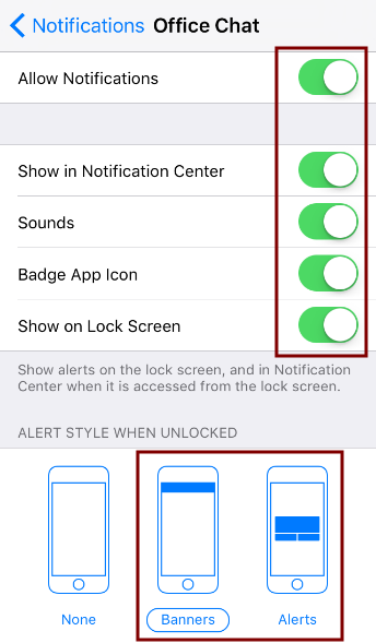iOS Notifications 3