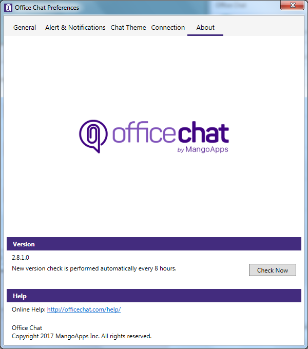 Office Chat Windows About Us